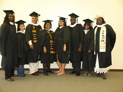 Africana Studies Graduation-2008