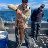 """Bryan Nesthus with 40"""" Ling Cod"""