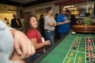The Art Institute of San Antonio hosted an Alumni mixer at Red Restaurant on campus in San Antonio, Texas. Over 30 alums attended the event and had blast playing at the tables and dropping some big time play money. (Photos by Drew Patterson)