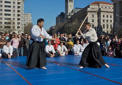 John & Mark showing the ken-tai-jo #2