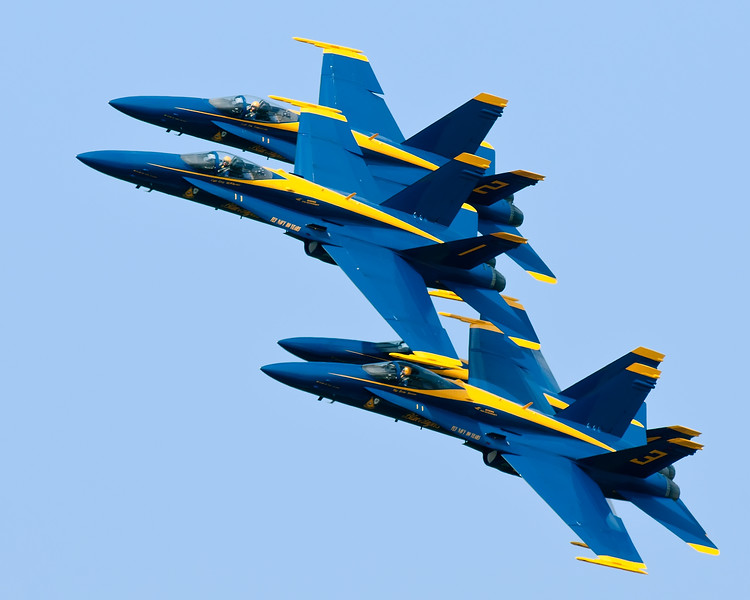 Sept 3rd,  I got a few photos of the Blue Angels from my house on Saturday.