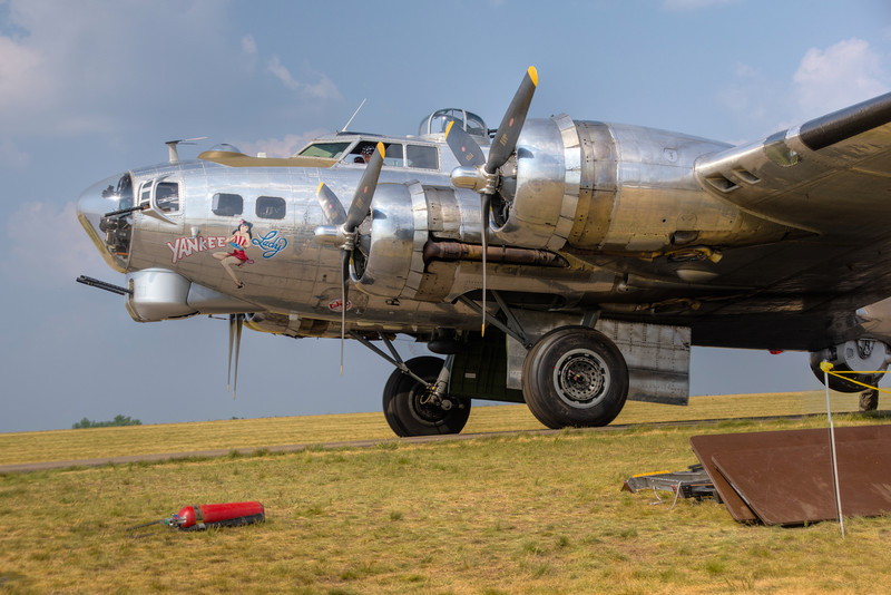 B17 Ready for Take Off