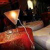 Orange & Turquoise Lounge