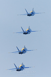 Blue Angels, 4th of July Airshow, Traverse City, Michigan