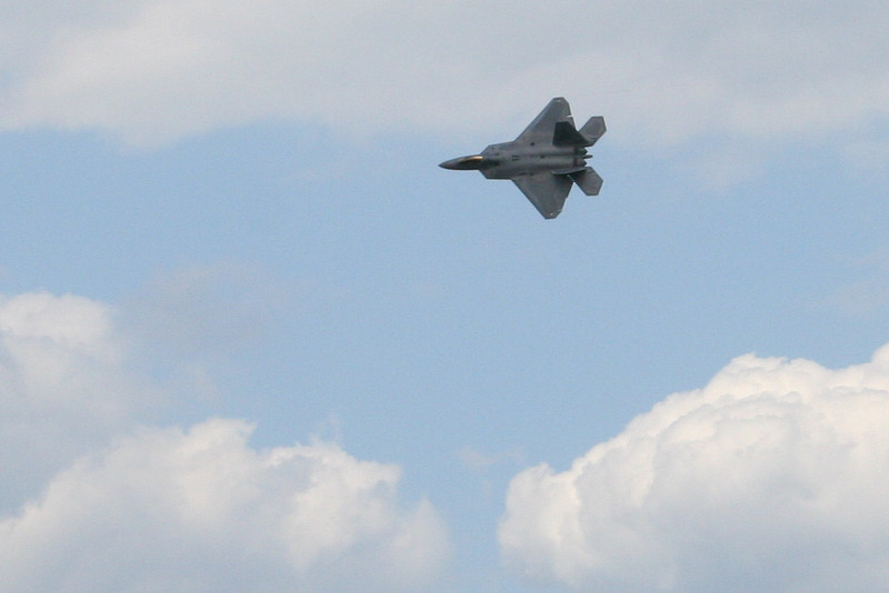 F-22 Raptor in flight, #82