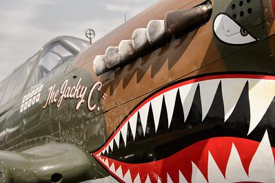 "Curtis-Wright P-40 ""Warhawk"" 'The Jackie C'"