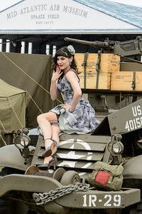 Pin-up at the WWII Weekend
