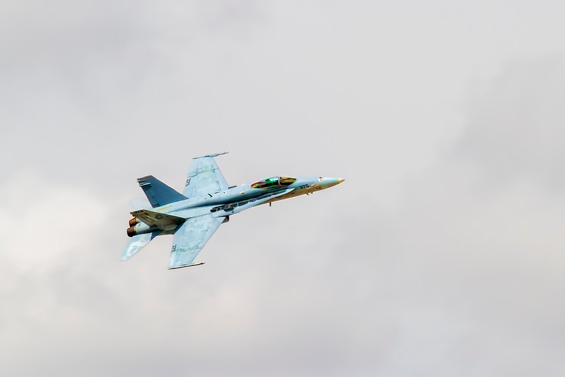 F-18 fly-bys