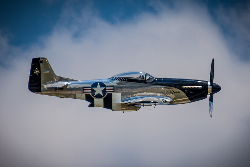 "North American P-51 D ""Quick Silver"""