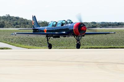Yakoviev Yak-52 piloted by Dan Christian