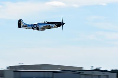 "Scott Yoak's P-51 Mustang ""Quick Silver"" at Thunder Over the Blue Ridge"