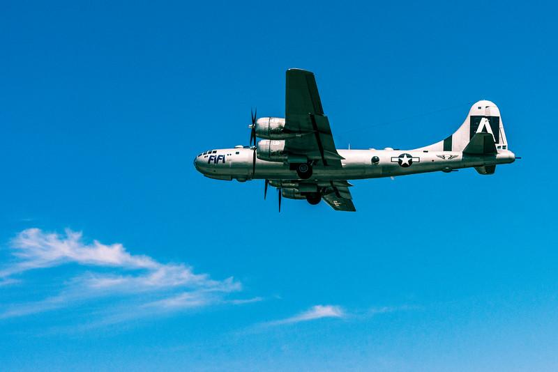 Tora! Tora! Tora! Airshow, B-29 Superfortress FiFi