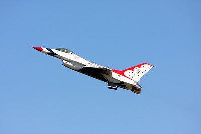 The Thunderbirds Houston air show October 2008