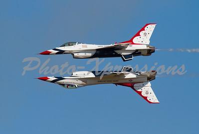 Thunderbirds Mirror Flight