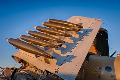 Douglas Skyraider Bombs