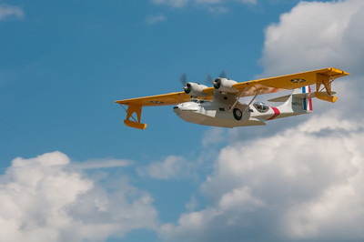 PBY Catalina Floats Lowered
