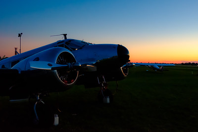 Beech 18 Sunrise