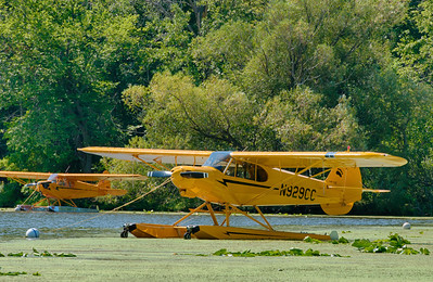 Top Cub on floats