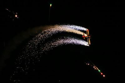 Night Pyro Airshow