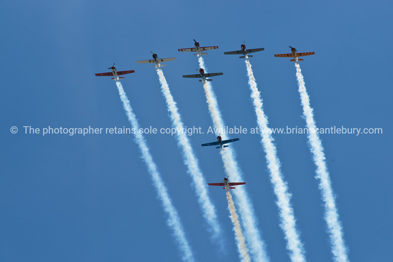 """Planes, Planes airshow formation. Tauranga Airshow, 2010. Tauranga is New Zealands 5th largest city and offers a wonderfull variety of scenic and cultural experiences. ALSO SEE; <a href=""""http://www.blurb.com/b/3811392-tauranga"""">http://www.blurb.com/b/3811392-tauranga</a>"""