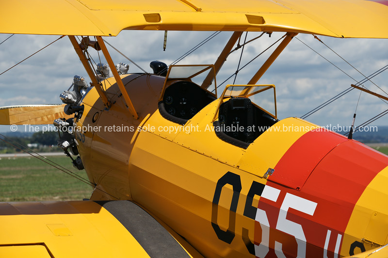 """Bi-plane, close up, Tauranga Airshow, 2010. Tauranga is New Zealands 5th largest city and offers a wonderfull variety of scenic and cultural experiences. ALSO SEE; <a href=""""http://www.blurb.com/b/3811392-tauranga"""">http://www.blurb.com/b/3811392-tauranga</a>"""
