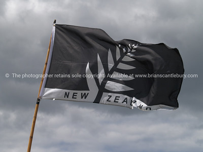 Tauranga Airshow, 2008. New Zealand. Silver fern flag. Tauranga is New Zealands 5th largest city and offers a wonderfull variety of scenic and cultural experiences. ALSO SEE; http://www.blurb.com/b/3811392-tauranga