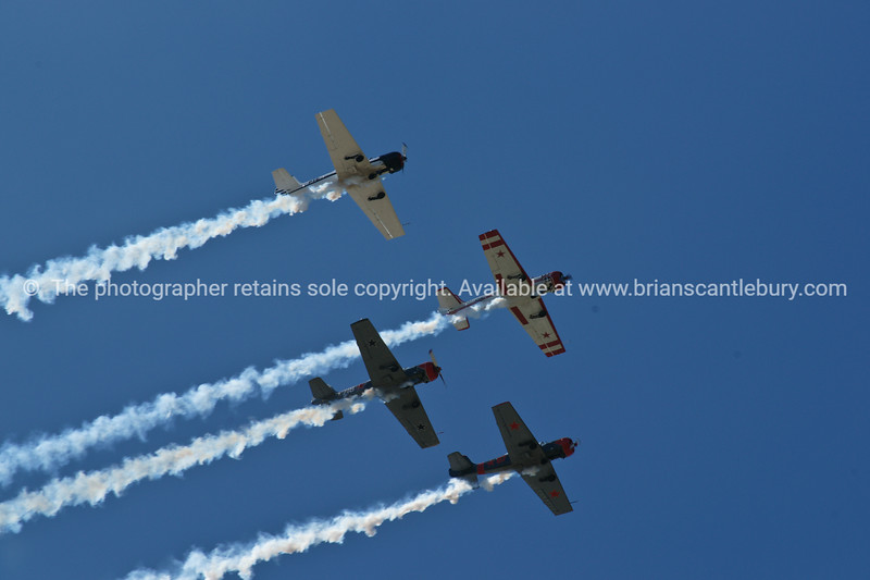 """Planes, Planes airshow formation. Tauranga Airshow, 2010 Tauranga is New Zealands 5th largest city and offers a wonderfull variety of scenic and cultural experiences. ALSO SEE; <a href=""""http://www.blurb.com/b/3811392-tauranga"""">http://www.blurb.com/b/3811392-tauranga</a>"""