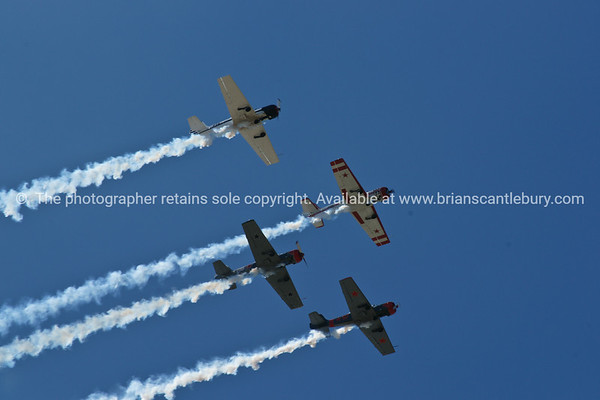 "Planes, Planes airshow formation. Tauranga Airshow, 2010 Tauranga is New Zealands 5th largest city and offers a wonderfull variety of scenic and cultural experiences. ALSO SEE; <a href=""http://www.blurb.com/b/3811392-tauranga"">http://www.blurb.com/b/3811392-tauranga</a>"