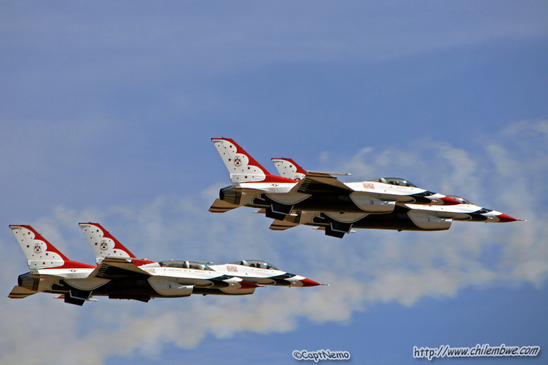California Capital Air show 2007 USAF Thunderbirds