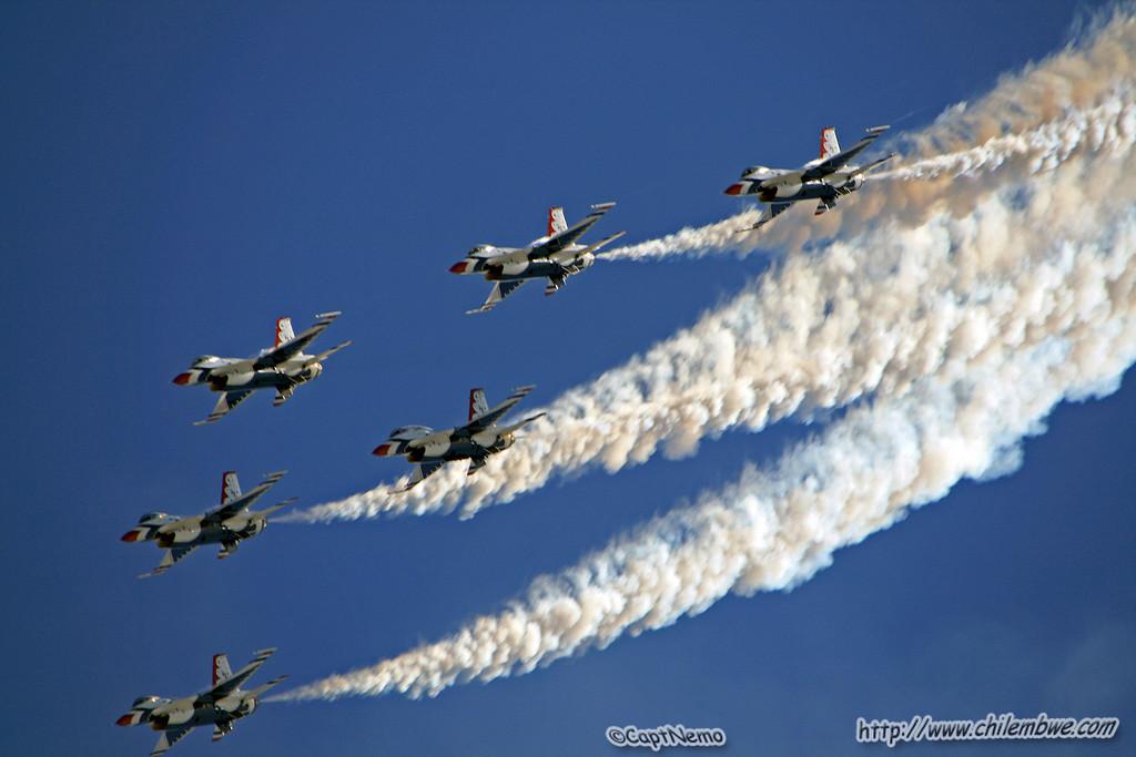 California Capital Air show 2007 USAF Thunderbirds