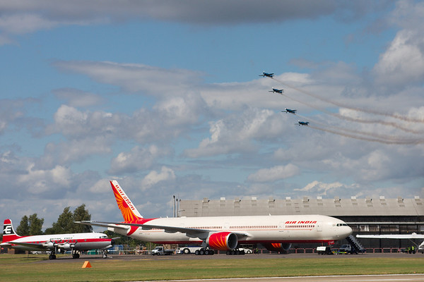 One Air India and four Extras