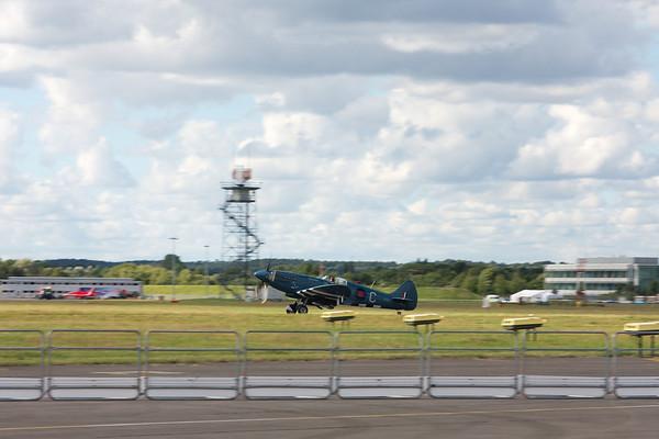 Landing Spitfire