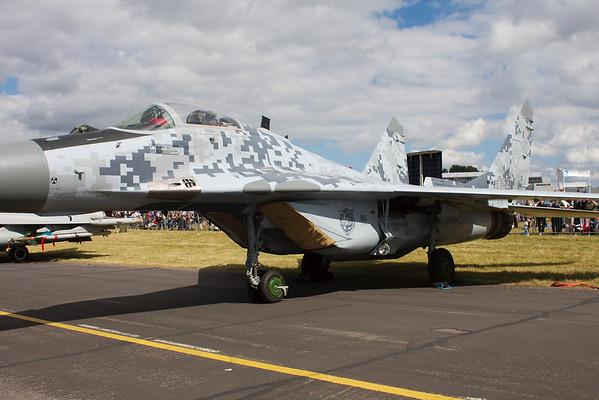 NATO modified MIG 29