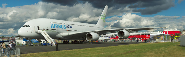 Panorama of the Airbus A380
