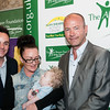 Alan Shearer, Ant n Dec, with Charlie Cookson and his Mum