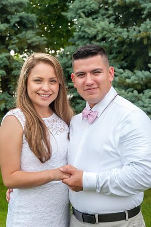 Alan and Samantha Flores
