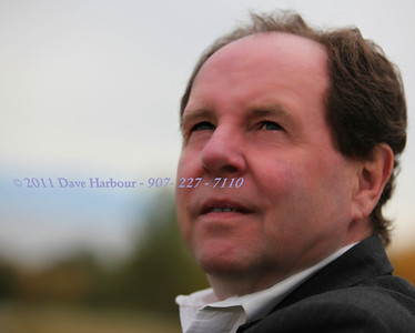 Ron Holmstrom envisioning his next great role as one of Alaska's most important acting and producing talents.