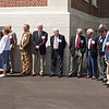 "Some of the ""Old Guard"" Class of 1963 waiting at the front steps at the Albany Academy (05/17/13) -- R-L: G. Fassett, L. Herman, B. Macomber, D. Morris, B. Wilcke, G. Chelius, S. Ranney, E. Steck, M. McKenzie, R. Wing....."