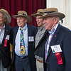 "The new ""Old Guard"" flank Ernest Steck (Gerry Eckert, David Schlang, George Chelius (05/17/13)"