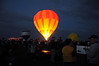 A glowing balloon strategically placed near the entrance to the balloon park. You've got to arrive well before sunrise to catch the action.