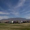 Sandia Mountains from Balloon Fiesta Field.
