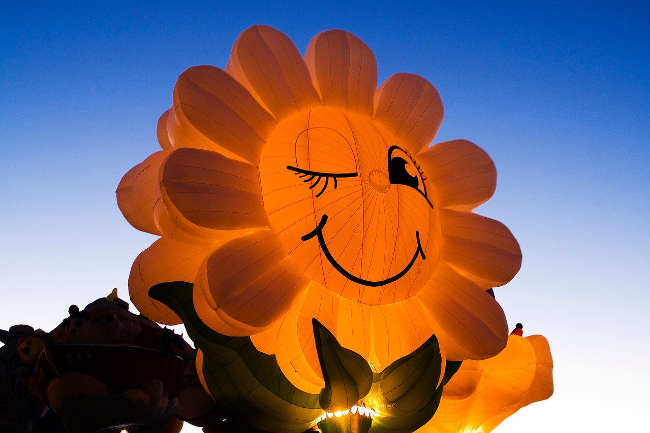 Miss Daisy - Central, SC Night Glow @ Albuquerque Festival - jbaz45