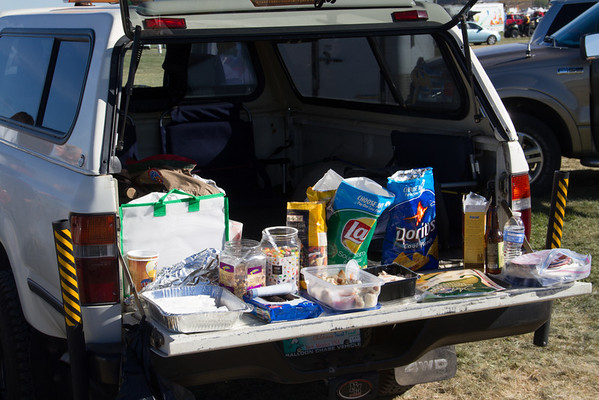 Tailgate supplies.