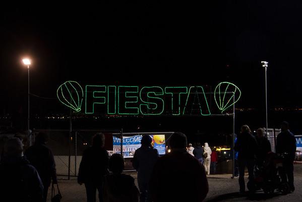 Entrance to Balloon Fiesta Park.