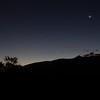 Moonrise above Sandia Mountains.