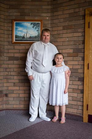 Alejandra's Baptism 2017