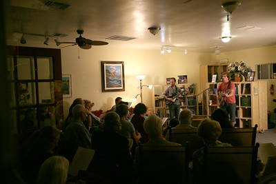 "Encinitas, CA - Alex Cook kicks off his West Coast CD Release tour of his first album ""Tree of Life"". Jason Froese on bass (also the producer of the ""Tree of Life"" album). More on Alex Cook at    http://www.stonebalancer.com"