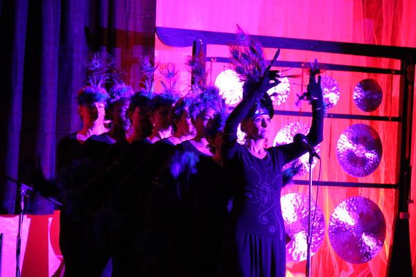 Artist Alex Grey 11:11 Sound Light & Spirituality Event 1, Wings Unity St Pete FL, Photos  by Jan 11 11 09