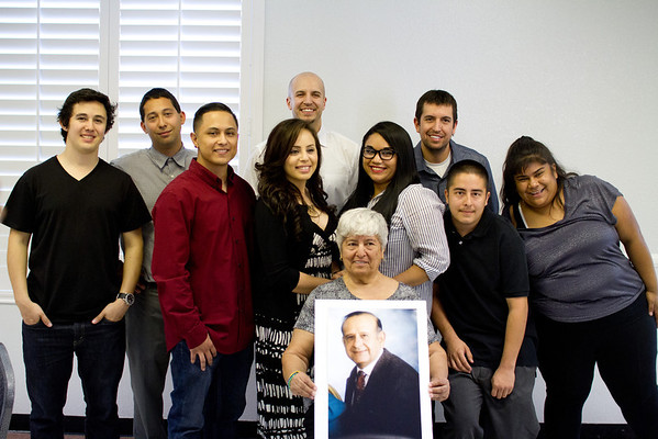 Alex Martinez Memorial Service, March 15, 2014.