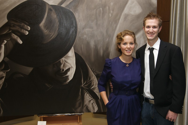 Erika Christiansan & Alex Scott